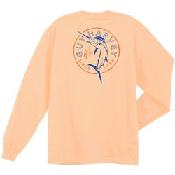 Guy Harvey Mens Nirvana Marlin Long Sleeve T-Shirt