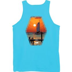 Guy Harvey Mens Tranquility Tank Top