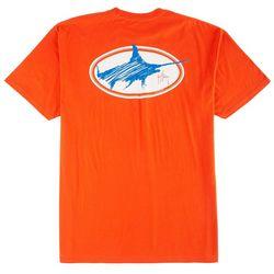 Guy Harvey Mens Swordsmith Scribble T-Shirt