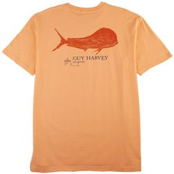 Guy Harvey Mens Blue Crew T-Shirt