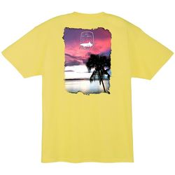 Guy Harvey Mens Lone Palm T-Shirt