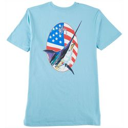 Guy Harvey Mens Merican T-Shirt