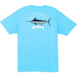 Guy Harvey Mens Members Only Pocketed T-Shirt