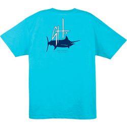 Guy Harvey Mens Initial Logo UVX T-Shirt