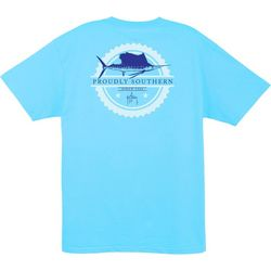 Guy Harvey Mens Outlaw Proudly Southern T-Shirt