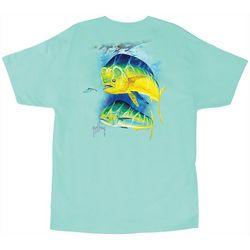 Guy Harvey Mens Two Bulls T-Shirt