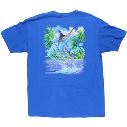 Guy Harvey Mens Island Lifestyle T-Shirt