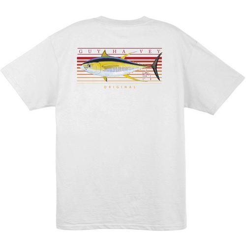 1d714aab5ba4 Guy Harvey Mens Sunrise T-Shirt