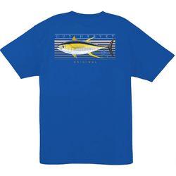 Guy Harvey Mens Sunrise Short Sleeve T-Shirt
