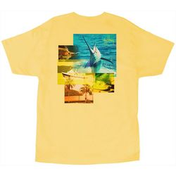 Guy Harvey Mens Tropical Star T-Shirt