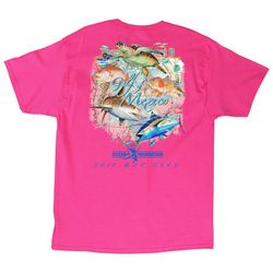 Guy Harvey Mens Gulf Of Mexico T-Shirt