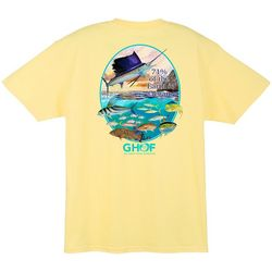 Guy Harvey Mens Ocean Wide Short Sleeve T-Shirt