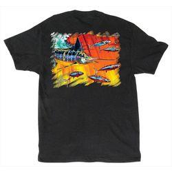 Guy Harvey Mens Hydro Aquatic T-Shirt