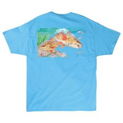 Guy Harvey Mens Reds Short Sleeve T-Shirt