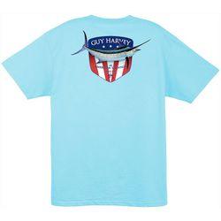 Guy Harvey Mens Down Home Pocket T-Shirt