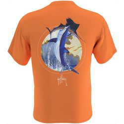 Guy Harvey Mens Mako Power Short Sleeve T-Shirt