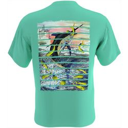 Guy Harvey Mens Dorado Catch Short Sleeve T-Shirt