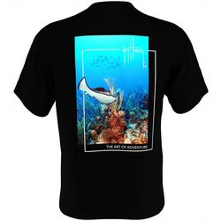 Guy Harvey Mens Beneath The Surface Short Sleeve T-Shirt