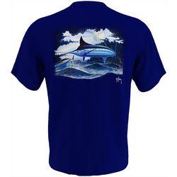 Guy Harvey Mens Night Time Swim Short Sleeve T-Shirt