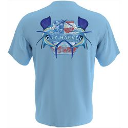 Guy Harvey Mens Sailfish Americana Short Sleeve T-Shirt