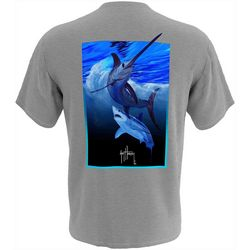 Guy Harvey Mens Deep Sea Rival Short Sleeve T-Shirt