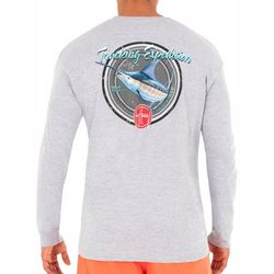 Guy Harvey Mens Tracking Marlin Long Sleeve T-Shirt