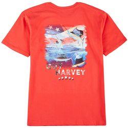 Guy Harvey Mens American Sailfish Short Sleeve T-Shirt
