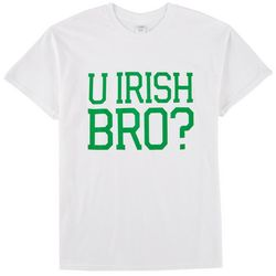 T-Shirt International Mens You Irish Bro Graphic T-Shirt