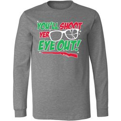 T-Shirt International Mens You'll Shoot Yer Eye Out T-Shirt