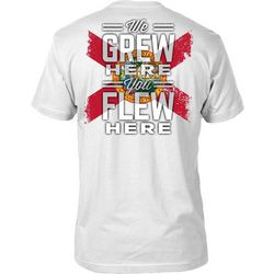 FloGrown Mens We Grew Here T-Shirt