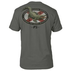 FloGrown Mens Gator Outfitters Short Sleeve T-Shirt