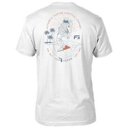 FloGrown Mens Space Coast Surf Short Sleeve T-Shirt