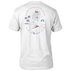 FloGrown Mens Space Coast Surf Short Sleeve T-Shirt