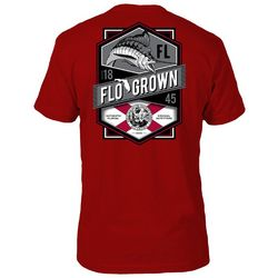 FloGrown Mens Ocean Crest Short Sleeve T-Shirt
