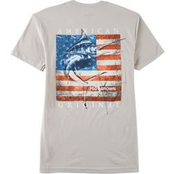 FloGrown Mens American Original Marlin Short Sleeve T-Shirt