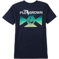 FloGrown Mens Mahi Skin Flag Short Sleeve T-Shirt