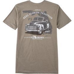 FloGrown Mens Vintage Truck Short Sleeve T-Shirt