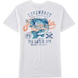 FloGrown Mens Legendary Big Catch Short Sleeve T-Shirt