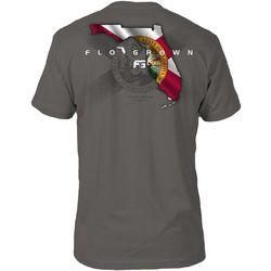 FloGrown Mens Florida Flag Short Sleeve T-Shirt