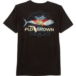 FloGrown Mens Tuna Flag T-Shirt