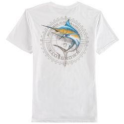 FloGrown Mens Marlin Sketch T-Shirt