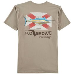 FloGrown Mens Marlin Stand Up T-Shirt