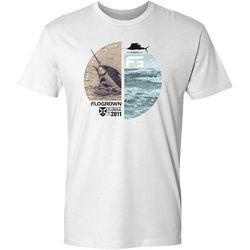 FloGrown Mens Marlin Catch Short Sleeve T-Shirt