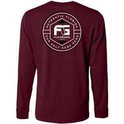 FloGrown Mens Polygon Logo Long Sleeve T-Shirt