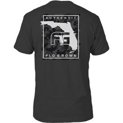 FloGrown Mens Camo Poster Short Sleeve T-Shirt