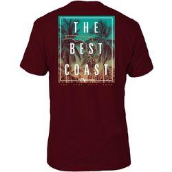 FloGrown Mens Best Coast Short Sleeve T-Shirt