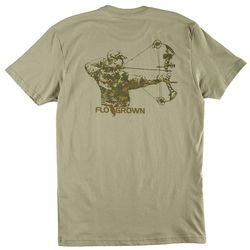 FloGrown Mens Bow Hunter T-Shirt