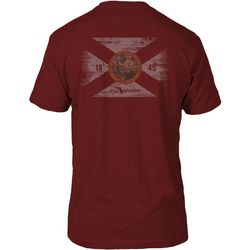 FloGrown Mens Vintage Flag T-Shirt