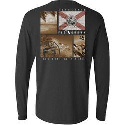 FloGrown Mens Multiplane Snook Long Sleeve T-Shirt