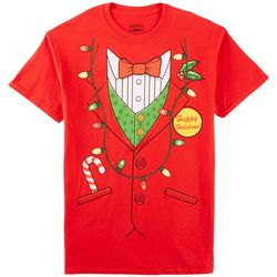 Tru Graphix Mens Holiday Suit T-Shirt